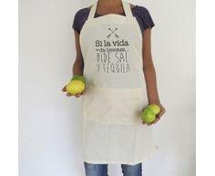 Delantal Si la vida te da limones