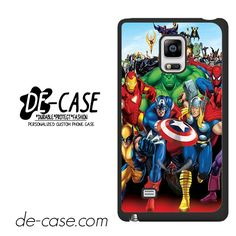 Marvel Heroes Comic Poster DEAL-6952 Samsung Phonecase Cover For Samsung Galaxy Note Edge