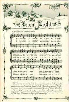 Christmas Carol, Vintage Christmas, Christmas Crafts, Xmas, Christmas Mantles, Victorian Christmas, Christmas Christmas, Christmas Ornaments, Vintage Sheet Music