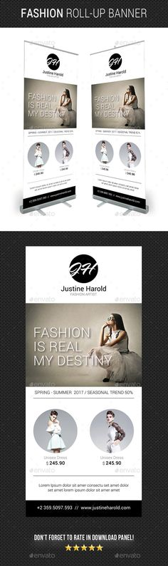 Fashion Roll-Up Banner 03
