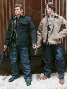 Supernatural dolls. WHY DON'T I OWN THESE?!?!?
