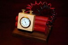 Picture of The Time-bomb Clock