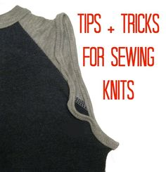 We are talking all about sewing with knits, you know the perfect T-Shirt material! Learn tips and tricks about how to sew the perfect seam on knit fabrics.