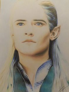 Hey everybody, my new drawing of Orlando Bloom as Legolas Hope you like it! Let me know what you think of it Legolas Legolas, Orlando Bloom, The Elf, Middle Earth, Tolkien, Lotr, The Hobbit, Elves, Mythology