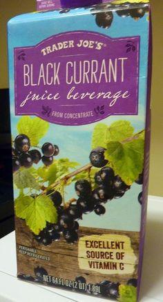 What's Good at Trader Joe's?: Trader Joe's Black Currant Juice Beverage