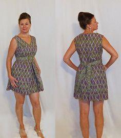 RARE 1960s  OLEG CASSINI  Paper Dress by AuntieEstablishment