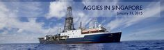 All Aggies in Singapore are invited to tour the ship, Jan. 31. Reply on this site if you have not received your invitation.