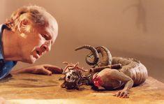 Ray Harryhausen animating Medusa from Clash of the Titans (1981) © Ray and Diana Harryhausen Foundation