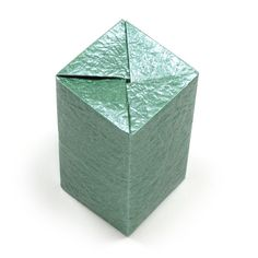 How to make a closed rectangular origami box II (http://www.origami-make.org/origami-box-rectangular-closed2.php)