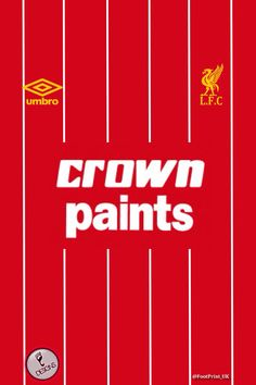 LFC crown paints Liverpool 2016, Liverpool Fans, Liverpool Home, Liverpool Tickets, Uk Football, Football Shirts, Kenny Dalglish, This Is Anfield, Viral Trend