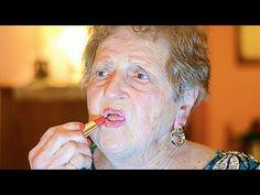Grandma's New Years Eve Makeup Tutorial