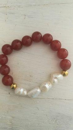 Piedra preciosa y perla barroca...