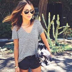 Would want the shorts a little Longer but cute outfit
