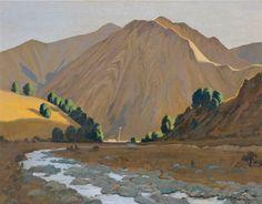 Colin Lovell-Smith's Sunset, Craigieburn | Christchurch Art Gallery Te Puna o Waiwhetu