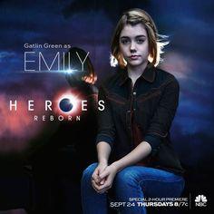 Heroes Reborn - Gatlin Green as Emily #heroesreborn #gatlingreen #emily