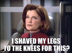 Captain Janeway Star Trek Voyager doesn't even need the facepalm to show you how dumb that was Star Trek Quotes, Star Trek Meme, Star Wars, Star Trek Enterprise, Star Trek Voyager, Star Trek Universe, Marvel Universe, Seven Of Nine, Space Opera