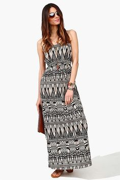 Rory Cut Out Dress - Black/Taupe