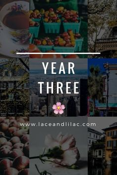 Y E A R T H R E E  www.laceandlilac.com today is lace & lilacs' third birthday!  Hey-hey! It's quite a special day around these parts – a happy-happy birthday, to be precise! My little Lace & Lilacs is officially three years old as of by @lacelilacblog