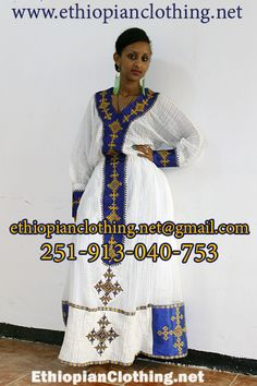 #Handmade #artisan #blue #embroidered #Habesha #cultural #dress www.ethiopianclothing.net 251 913 040 753 www.fb.com/www.ethiopianclothing.net www.fb.com/habeshadresses