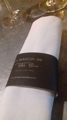 Chez Petit Pierre à Béziers Napkin Rings, Restaurants, Tasting Menu, Night, Stone, Restaurant, Napkin Holders, Diners