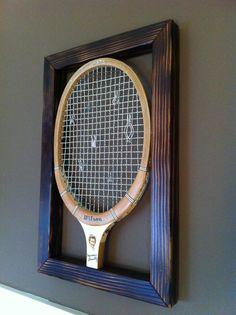 Jewelry Organizer  Vintage Tennis Raquet by InMyTreeDesigns, $55.00