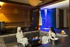 Relax after a day on the slopes.