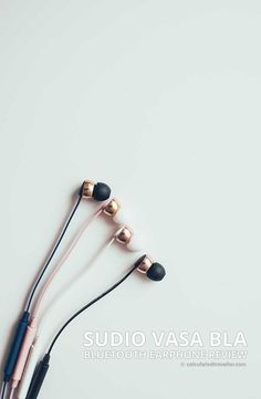 Buetooth earphones with high fashion style Sudio Vasa Bla Bluetooth Earphone Review by Calculated Traveller Magazine