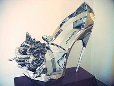 I believe that Cinderella's stepsisters were not after Prince Charming – they were really after the glass slipper. #shoes
