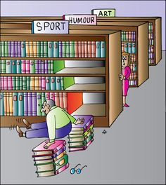 lifting them and putting them away would be a work out too ;) oh how much I miss shelving books!!
