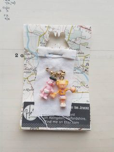 Excited to share the latest addition to my #etsy shop: Vintage Polly Pocket Lapel Pin - Cheerleader Pin - Puppy Dog Pin - Safety Pin Jewelry - OOAK Pin - Childish Jewellery http://etsy.me/2EejCu0 #jewellery #people #women #handmadejewelry #ooak #recycloanalyst #broochp