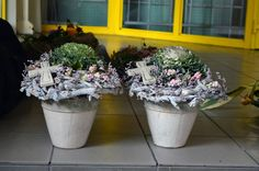 . Funeral Flower Arrangements, Funeral Flowers, Vence, Ikebana, Autumn, Fall, Planter Pots, November, Wreaths