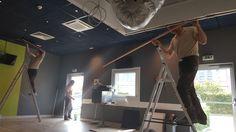 Atelier peinture  et pose de faux plafond pour nos experts #Luxembourg  à l'hôtel Ibis Budget Luxembourg Aéroport http://www.hotel-ibis-luxembourg.com/fr/ibis-budget.html