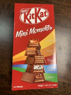 [i ate] Kit Kats from China Chocolate World, Chocolate Sweets, I Love Chocolate, Chocolate Lovers, Healthy Mixed Drinks, Kit Kat Flavors, Homemade Popsicles, Colorful Candy, New Flavour