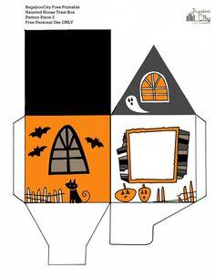 Parte 2 de 2. Caja-casa Halloween.