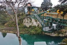 Adventure seeking risk taker: Bungy jumped at 47 meters high into the Waikato River in Taupo.  It is the highest water touch bungy in New Zealand.