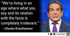 Krautheimer 'fess up about Fox, Benghazi Witch Hunt and the Republican Party! #UniteBlue