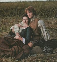 Claire & Jamie from Outlander. Read it then watch it!