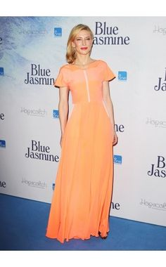 I really like this orange gown