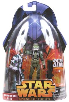 Revenge of the Sith Carded Commander Gree (Battle Gear) C-9