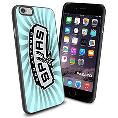 """NBA San Antonio Spurs iPhone 6 4.7"""" Case Cover Protector for iPhone 6 TPU Rubber Case SHUMMA http://www.amazon.com/dp/B00W6XX5P6/ref=cm_sw_r_pi_dp_kI24vb0A4VTRB"""