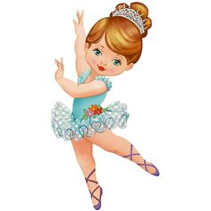 Cartoon Pics, Girl Cartoon, Cartoon Art, Cute Cartoon, Print Pictures, Cute Pictures, Little Girl Ballerina, Ballerina Silhouette, School Painting