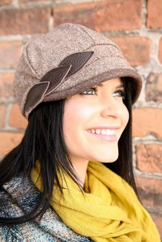 cute! Hat by Piper and Paisley. Need to order one and support local.