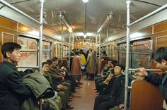 Dieter Leistner / Korea Korea / Gestalten Pyongyang Metro.