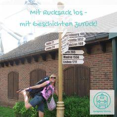 Das ist das Motto der Backpack Stories: Mit Rucksack los - mit Geschichten zurück! Reise Events in ganz Deutschland
