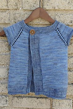 Ravelry: Top Down Cardigan for Little Monkeys by Eba Design