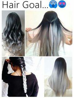 Silver hair ?