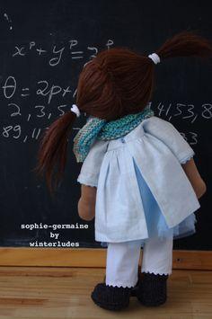 sophie-germaine waldorf doll