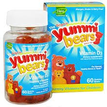 Free Yummi Bear Vitamins