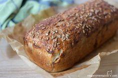 prosty chleb z ziarnami Bread Bun, Polish Recipes, Food Cakes, Empanadas, Cake Cookies, Banana Bread, Herbalism, Cake Recipes, Bakery