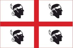 La bandera de Cerdeña. popularmente conocida como sos bator moros o is cuatru morus ('los cuatro moros' en sardo), es la bandera oficial de la región autónoma de Cerdeña. La bandera consiste en una cruz roja en un fondo blanco con una cabeza de moro en cada esquina de la cruz.  El emblema de la cruz de San Jorge cantonada con cuatro cabezas de moro en campo de plata aparece por vez primera en 1281 en sellos de plomo de Pedro III de Aragón, probablemente como símbolo personal y alusivo al…